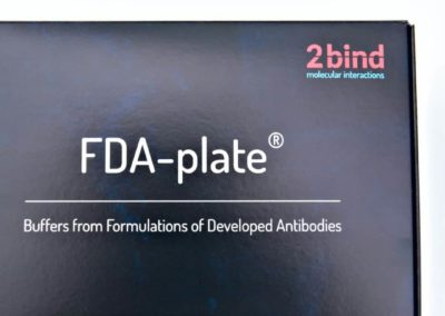 FDA-plate: Buffers from Formulations of Developed Antibodies