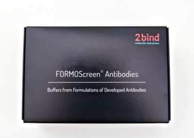 FORMOscreen: Buffers from Formulations of Developed Antibodies